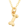 Picture of Dog Charm Necklace - Small Bone
