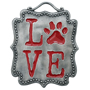 Picture of Paw Wall Plaque - Love